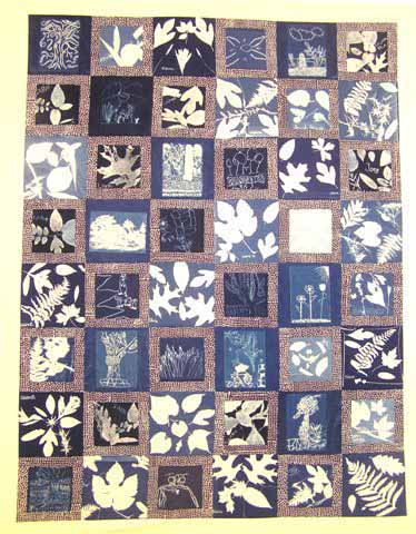 Weir Farm Sunprint Quilt